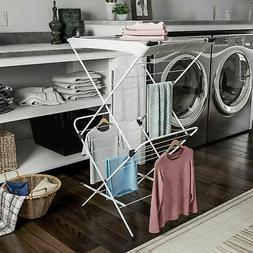 Foldable Clothes Drying Rack Line Air Drying Laundry Hang De