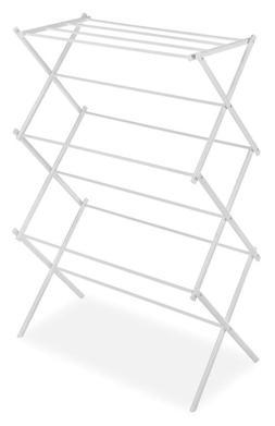 Whitmor Foldable Drying Rack, White