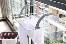unbrand Foldable Multifunction Shelf Drying Racks Clothes Sh