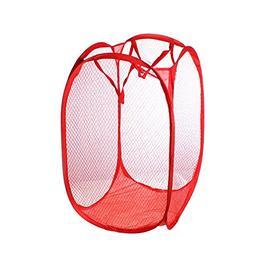 1 Pc Foldable Pop Up Laundry Basket Hamper Bag Storage Organ