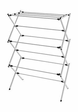 Homz Foldable, Steel Frame, Rustproof, 23 ft Space Clothes D