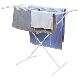 Sunbeam Folding 10 Rod Metal Clothes Clothing Hanging Drying