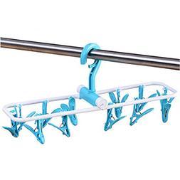 Inoutdoorkit Folding Travel Clip & Drip Socks Hangers, Porta