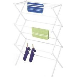 Folding Clothes Drying Rack, White