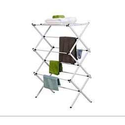 Folding Electric Clothing Dryer Free Standing Clothes Towel