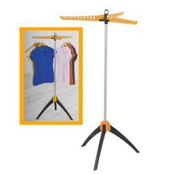 Folding Laundry Clothes Drying Rack - Collapsible Garment Dr
