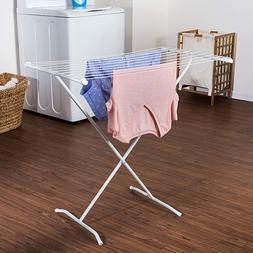 Folding Laundry Hanger Heavy Duty X Frame Drying Rack Storag