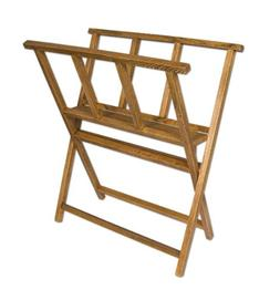 Creative Mark Folding Wood Large Print Rack - Perfect For Di