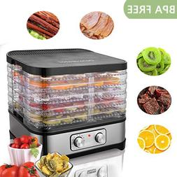 MAGIC MILL Professional Food Dehydrator Machine, 6 Stainless