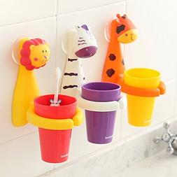 Food-grade Plastic Antibacterial Toothbrush Suction Cup Cove