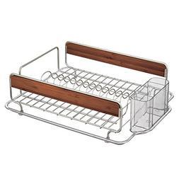 InterDesign Formbu Kitchen Dish Drainer Rack for Drying Glas