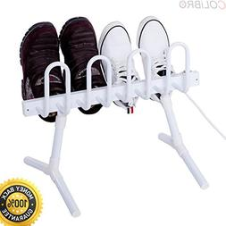 COLIBROX--Freestanding Electric Shoe Drying Rack Dries Dehum