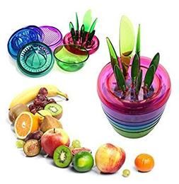 Fruits Plant Kitchen Tool Set / Apple Cutter / Avocado Scoop