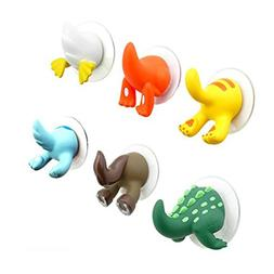 GGGarden Funny Cute Animal Tail Wall Hooks Hangers