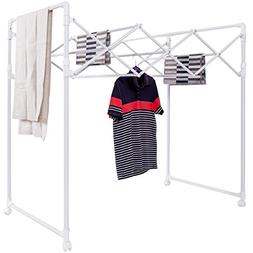 S AFSTAR Safstar Foldable Clothes Drying Rack Collapsible Ro
