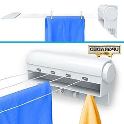 .Gideon Indoor 4-Line Laundry Retractable Clothesline – Wa