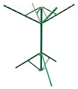 Greenway Portable Outdoor Rotary Clothesline by GHP Group, I