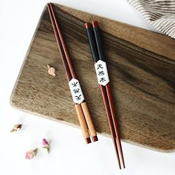 handmade japanese chestnut wood chopsticks