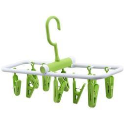 Hanger Holder Clothes Storage Rack Rotating Hook Organizer C
