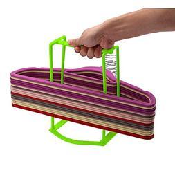 SAIYIDANZI Clothes Hanger Organizer Rack Lightweight Sturdy
