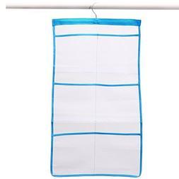 elegantstunning Hanging Bathroom Storage Bag with 6 Pockets,