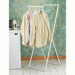 Hanging Clothes Rack Foldable Closet Drying Laundry Organize