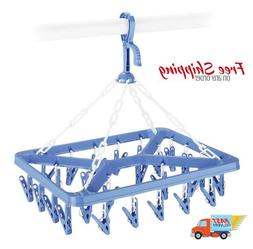 Hanging Drying Rack Clip and Drip Hanger Air-dry bras hosier