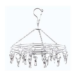 Aottop Hanging Drying Rack Laundry Drip Hanger with 20 Clips