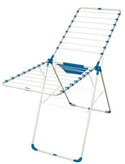 Foldable Clothes Drying Laundry Rack Stand Blue/Red/ Green
