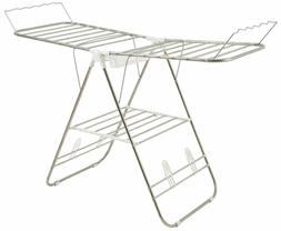 heavy duty laundry drying rack stainless steel