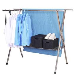 Finnhomy Heavy Duty Stainless Steel Clothes Drying Rack, Thi