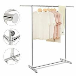 Costway Heavy Duty Stainless Steel Garment Rack Clothes Hang