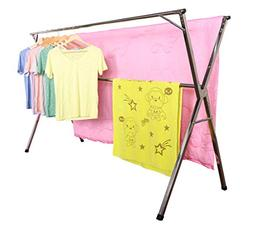 exilot Heavy Duty Stainless Steel Laundry Drying Rack for In