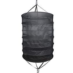 Growsun Herb Drying Rack 3-Ft 6-Layer Dry Net Mesh Hanging D