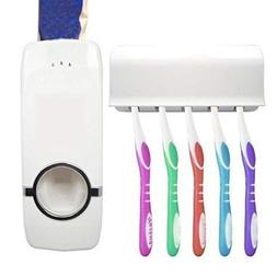 Home Auto Automatic Toothpaste Dispenser Toothbrush Holder S