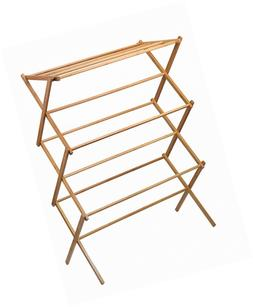 Home-it clothes drying rack - Bamboo Wooden  - heavy duty cl