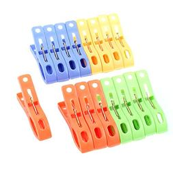 Home Laundry Plastic Clothespins Soft-Grip Clothes Line Clip