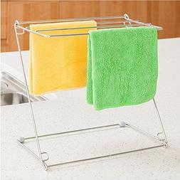 Homespace Stainless Steel Kitchen Rags Rack Drying Rack Desk