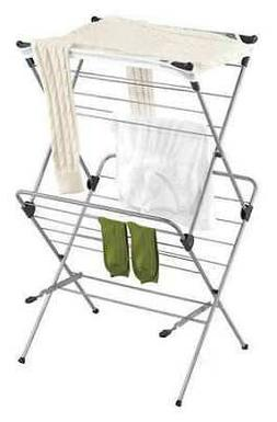 HONEY-CAN-DO DRY-01104 Mesh Drying Rack, 2 Tier