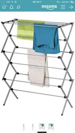 Honey-Can-Do Folding Steel Drying Rack - Silver