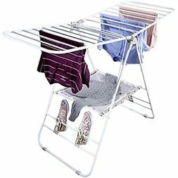 Honey-Can-Do DRY-01610 Heavy Duty Gullwing Drying Rack, Whit