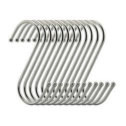 Topick S Hooks 2 Inch S Shaped Utility Hooks, 30 Pack Hangin