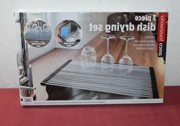 Amco Houseworks 3 Piece Dish Drying Rack Set