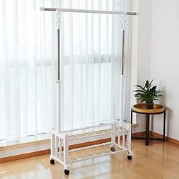 HPLL Drying Rack Floor-standing Folding Home Mobile Single A