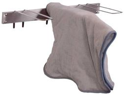 Hydrocollator Towel Cover Drying Rack, 3 Hook Stainless