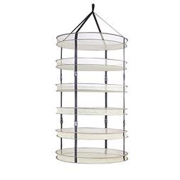 CREATINGSUN 3ft 6 Layer Hydroponic Mesh Hanging Herb Drying