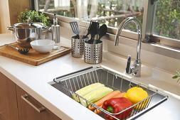 In Sink Dish Drying Rack Over Small Drainer Inside Holder Di