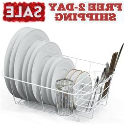 In Sink Dish Drying Rack Small Compact Drainer Tray Inside W