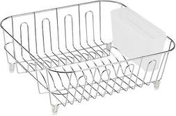In Sink Dish Drying Rack Small Compact Drainer Tray Inside S