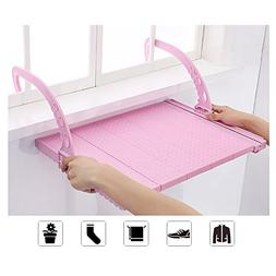 Indoor/Outdoor Extendable Folding Clothes Drying Rack Radiat